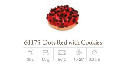 Dots red con Cockies