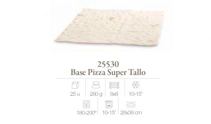 Base Pizza Super Tallo